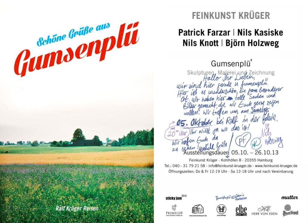 GUMSENPLÜ Flyer